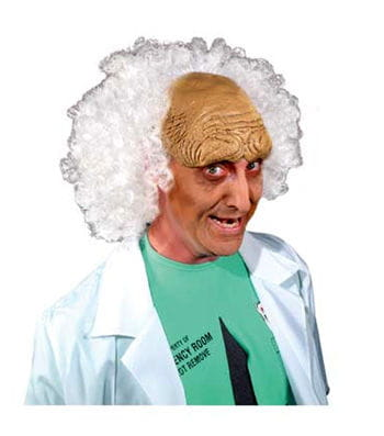 Crazy Professor Wig