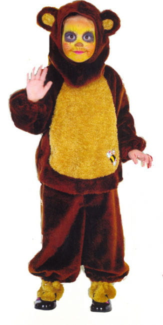 Honig Bärchen Kinder Kostüm Gr. 104