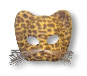 Leopard Mask Brown