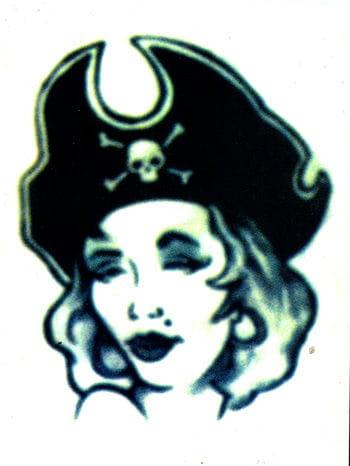 Seeräuberbraut Tattoo