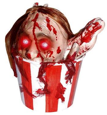 Popcorn Bucket with LED Body Parts