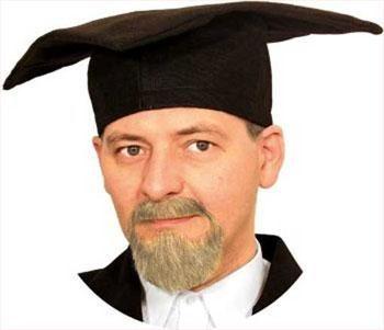 Professor Bartkombination blond