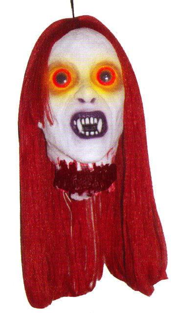 Monsterbraut Kopf rot LED Lights