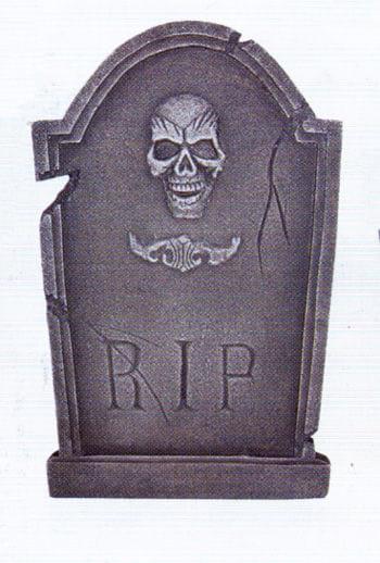Kleiner Grabstein Skull /Tribal