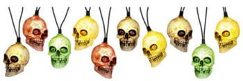 Skull Fairy Lights colorful luminous with sound