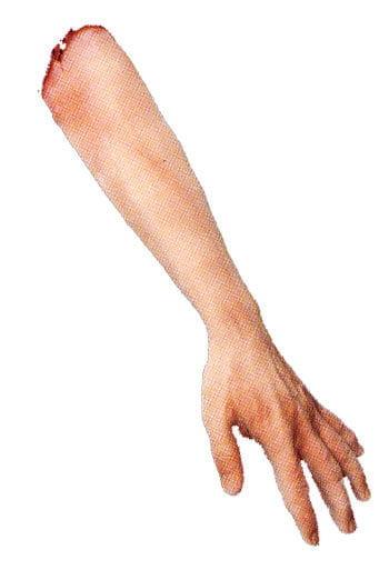 Linker Arm mit Ellbogen Latex