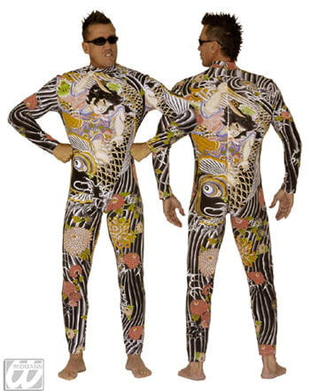 Tattoo Ganzkörper Anzug