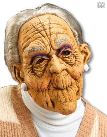 Oma Maske Zahnlos