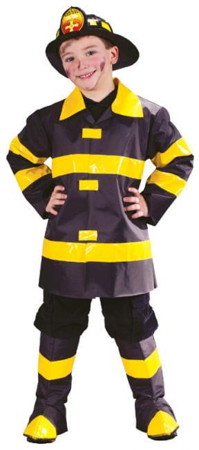 Feuerwehrmann Kinderkostüm Small