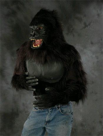 Hairy monkey shirt