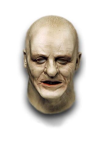 Old Hannibal Lecter Schaumlatex Maske
