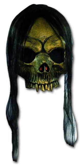 Gold Skull Halbmaske