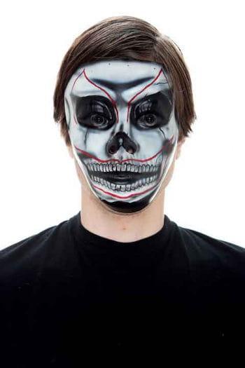 Scary Skull PVC face mask