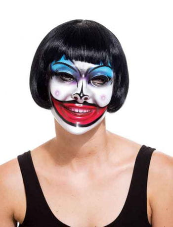 Crazy Mouth Clown PVC Mask