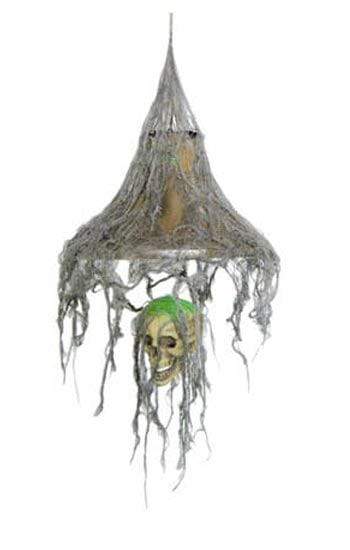Rotten Skull LED Hanging Lamp