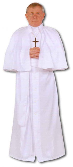 White Pope Premium Costume