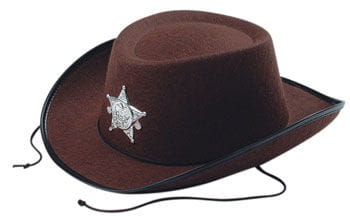 Kids Cowboy Hat Brown