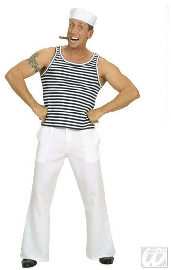 Sailor shirt striped XL
