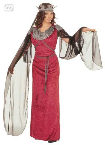 Mittelalter Kostüm Guinevere Gr. XL