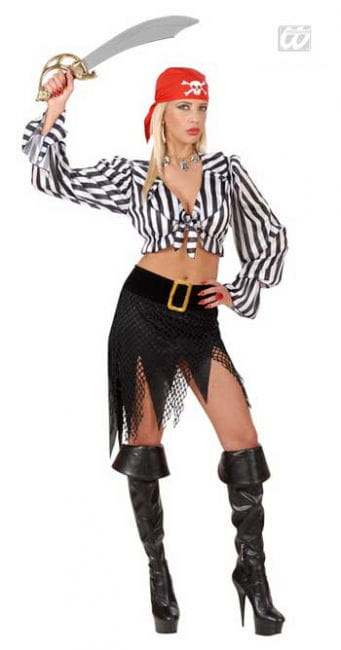 Kesse Pirate Bride Costume M