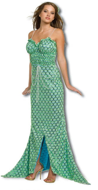 Meerjungfrau Premium Kostüm Medium