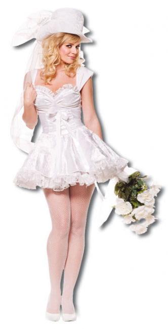 Zauberhafte Braut Premium Kostüm Gr. L