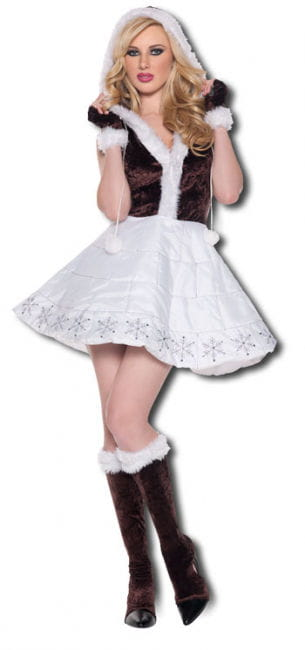 Eis Prinzessin Premium Kostüm Gr. M