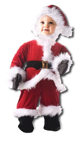 Droll Santa Child Costume. M