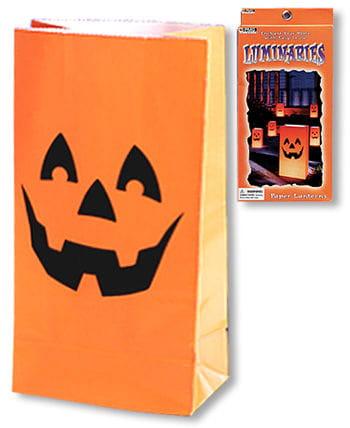Pumpkin Luminaries 6 PCS
