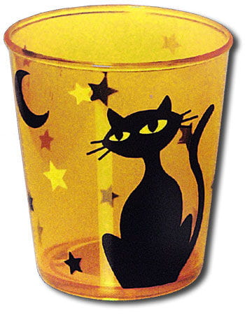Cups Retro Theme Cat