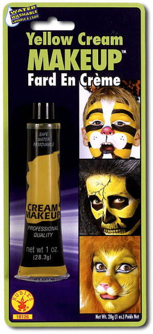 Yellow Cream Make Up
