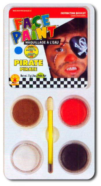 Piraten Aqua-Make Up Schminkset