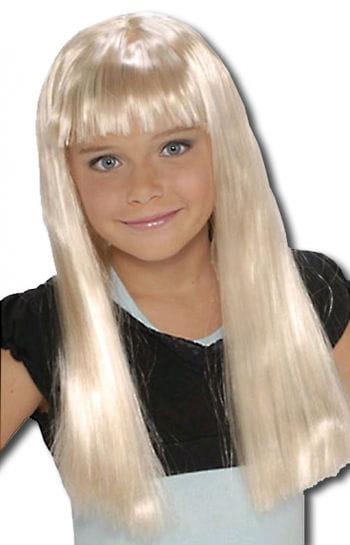 Popstar Kids Wig Blond