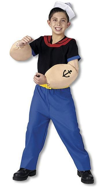 Original Popeye Kinderkostüm S