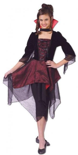 Lady Dracula Kinderkostüm M