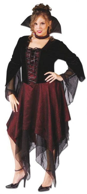 Sexy Vampire Lady Costume XL