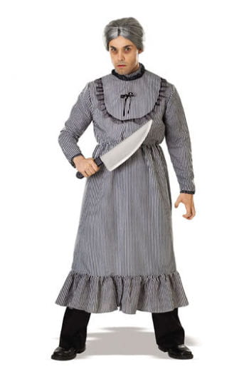Psycho Oma Bates Kostüm inkl. Perücke