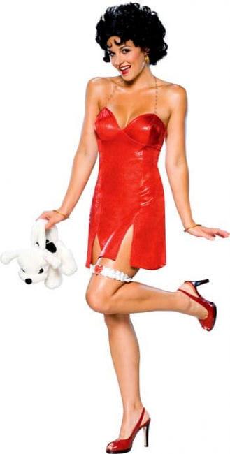 Betty Boop Minikleid DLX S 36-38