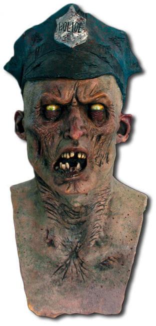 Zombie Polizist Maske