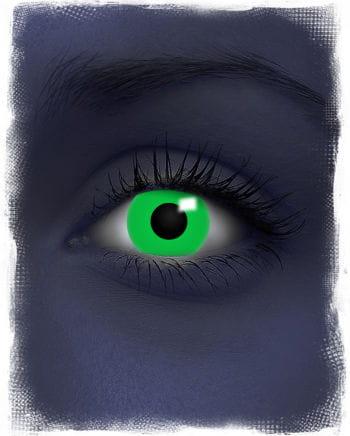 Kontaktlinsen grün UV-Aktiv