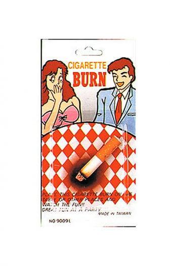 Brennende Zigarette
