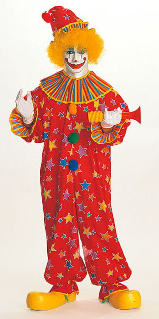 Funky Star clown costume