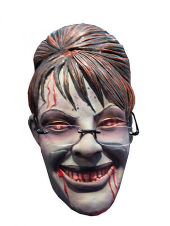 Sarah Palin Zombie Maske