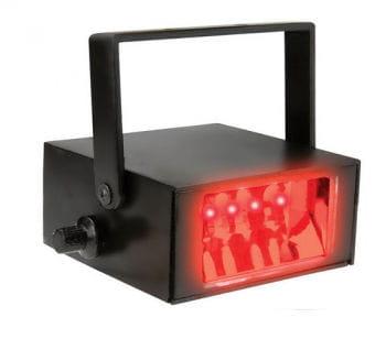 LED Stroboskop rot