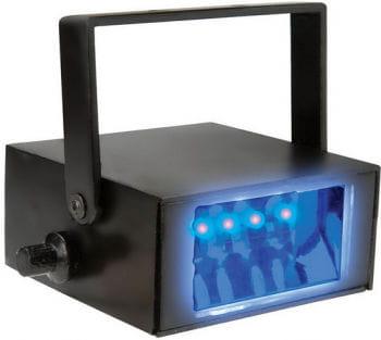 LED Stroboskop blau