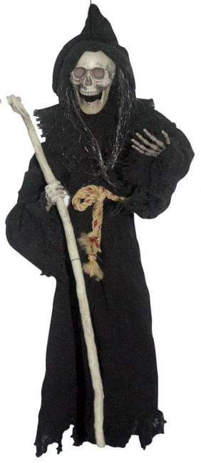 Wizard with Cane Decoration