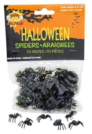 Kleine Spinnen 70Stck.