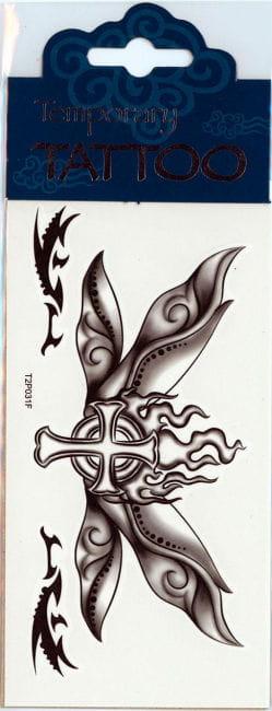 Flügel Tattoo Butterfly Cross