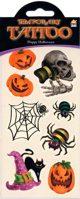 Happy Halloween Tattoo A