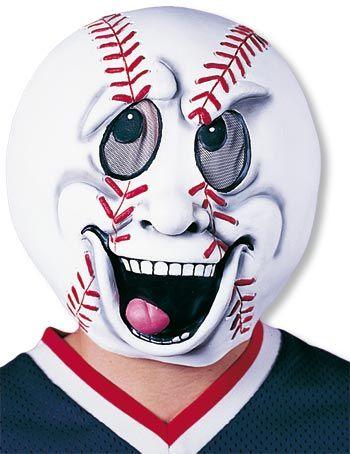 Baseballfan Karnevals Maske